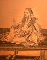 维摩诘居士像 临宋代画