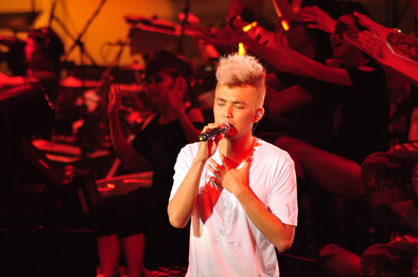 2011钟汉良上海演唱会图片