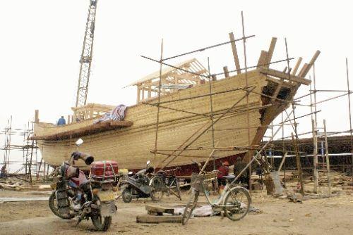 海船内部结构图