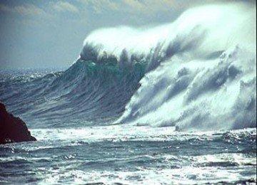 火山海啸的形成