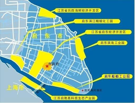 启东崇明岛地图
