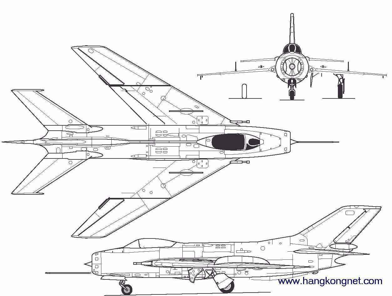 在第一代超音速战斗机中