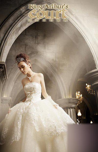 欧式宫廷婚纱摄影