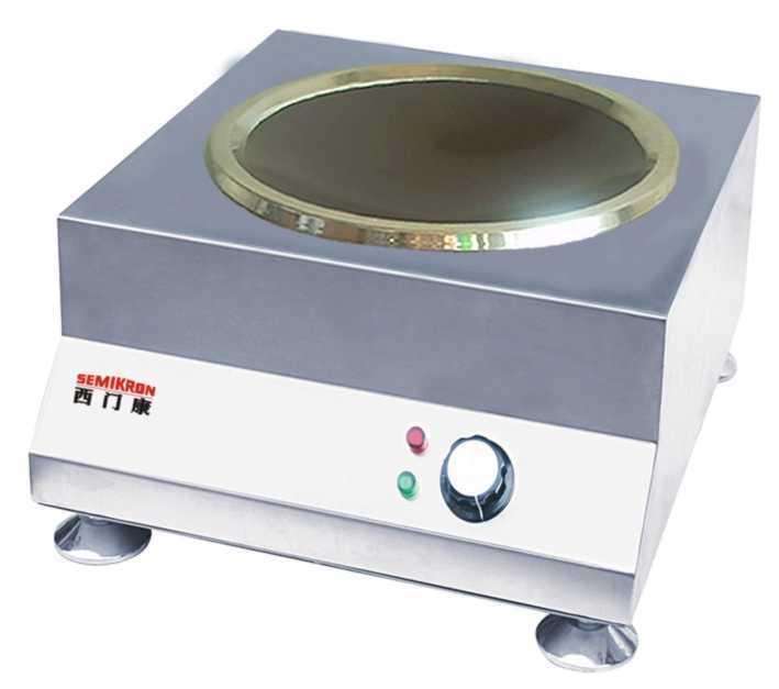 3,电磁灶   电磁灶利用电磁感应加热原理制成的新型电灶.