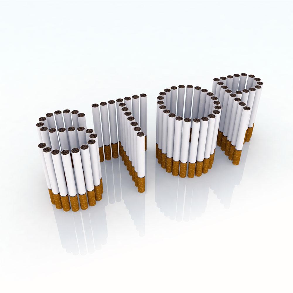 禁止吸烟创意海报高清图片