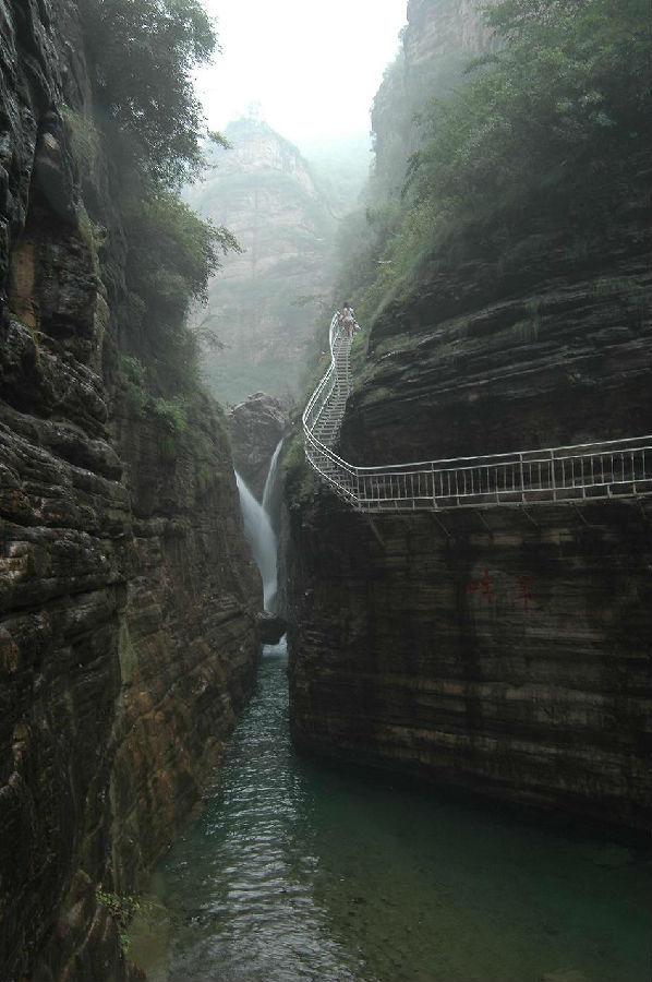 林州大峡谷_360百科图片