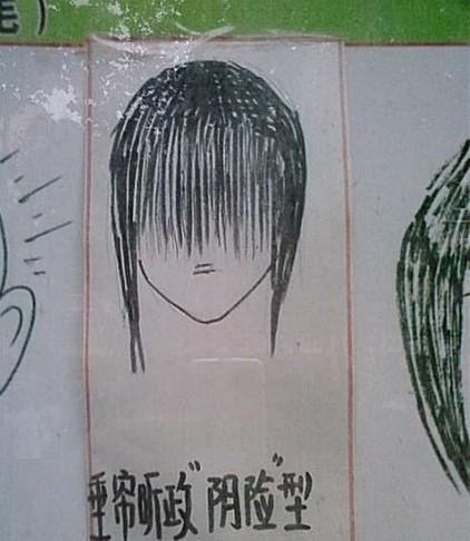 《不良发型大全》,男生有流氓海盗式