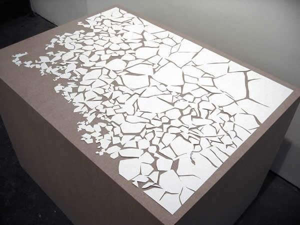纸雕灯箱_简单平面纸雕图纸