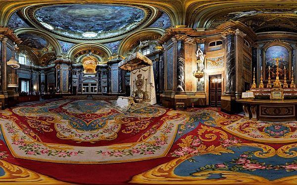 宫殿的内部装饰都出自于名家之手,比如伦勃朗(rembrandt)或是费迪南德图片