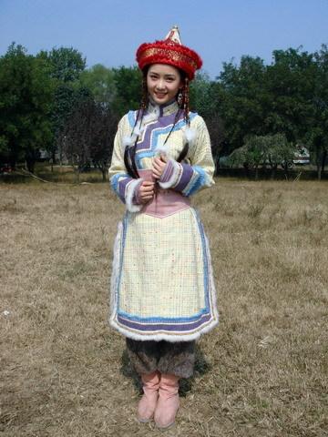 八仙女蒙古装造型图片