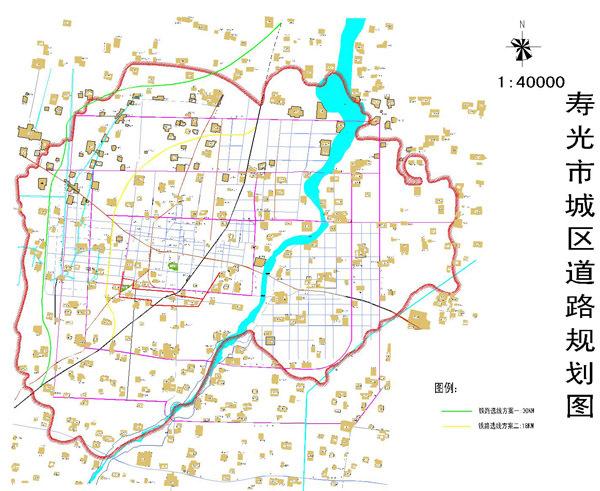 潍坊一滨海轻轨路线图