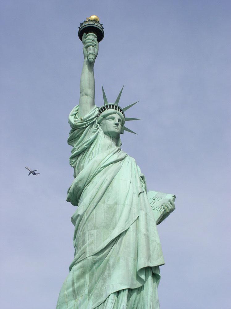 自由女神像高清图片 图片素
