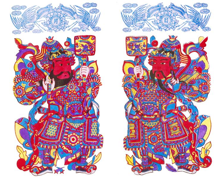 杨家埠木板年画_360百科