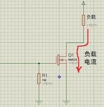 nmos管的开路漏极电路