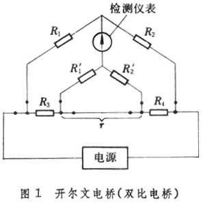 四臂结构是直流电桥的基本形式.