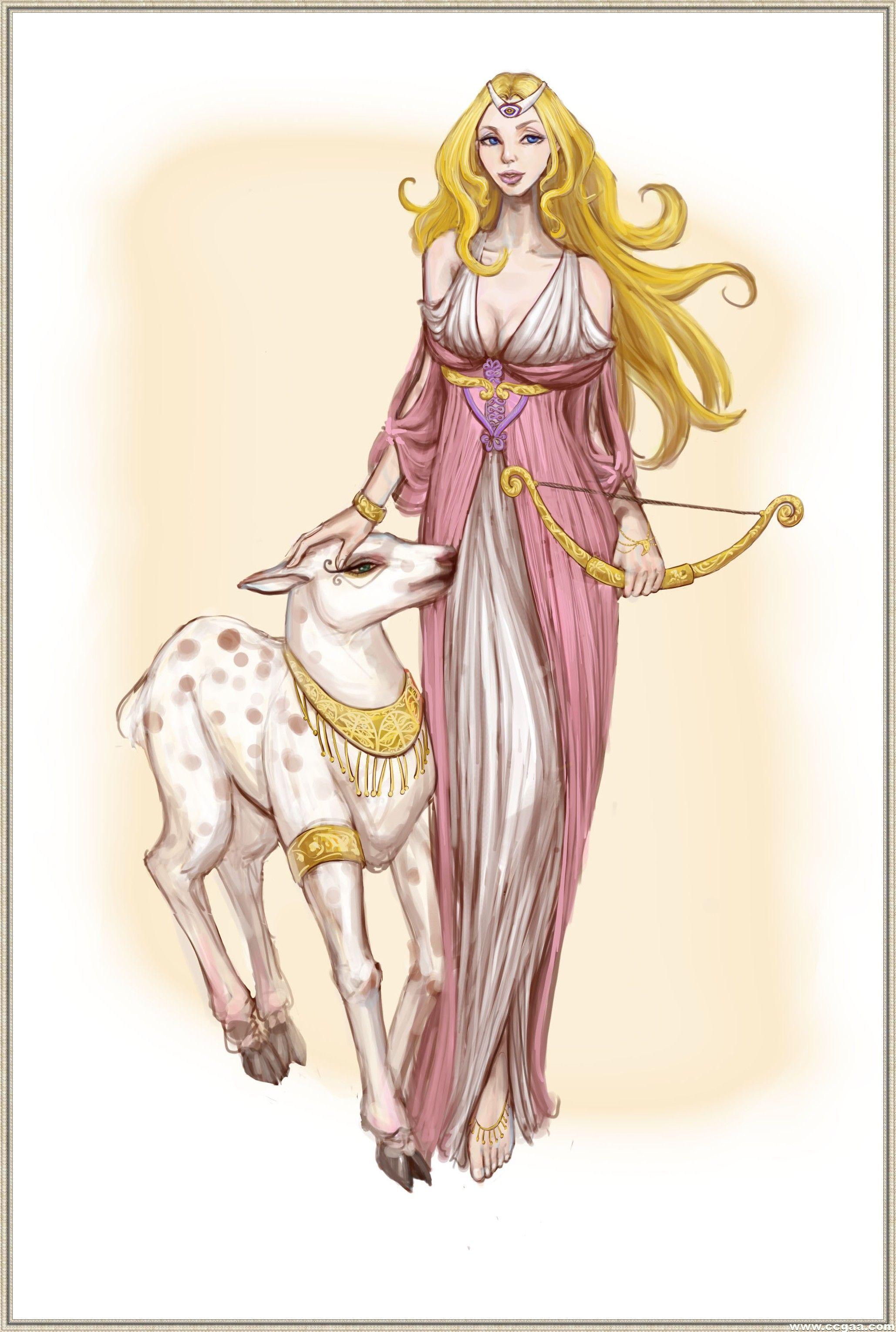 最新希腊神话月亮女神