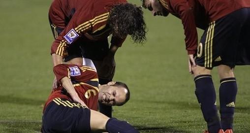 足球队员标准位置图解
