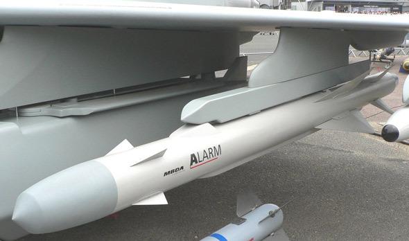 英军使用狂风飞机携载该型弹攻击伊军雷达