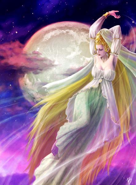 月亮女神塞勒涅