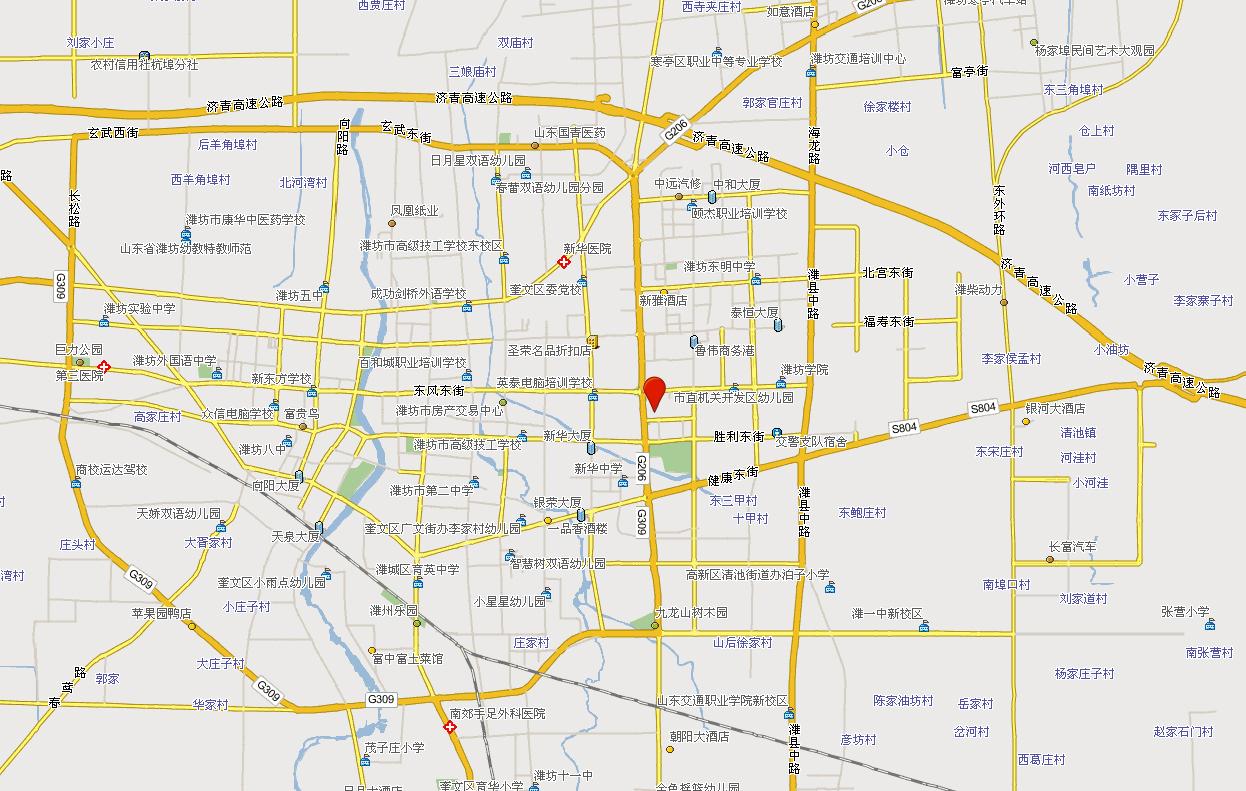 编辑本段景点地图   地址:山东省潍坊市东风东街198