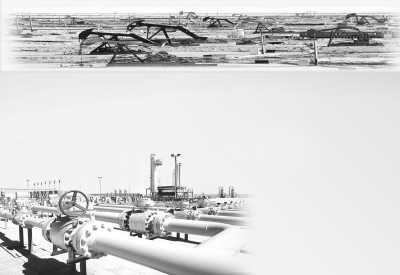 柴达木盆地西部的石油