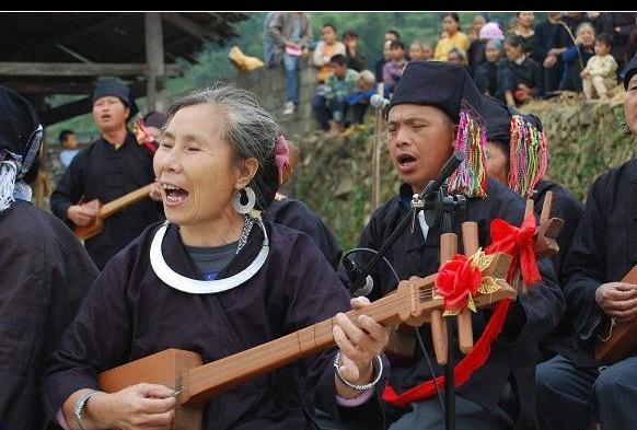 (图)侗族琵琶