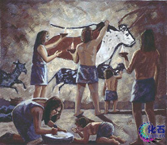在母系氏族阶段,妇女从事采集和原始农业