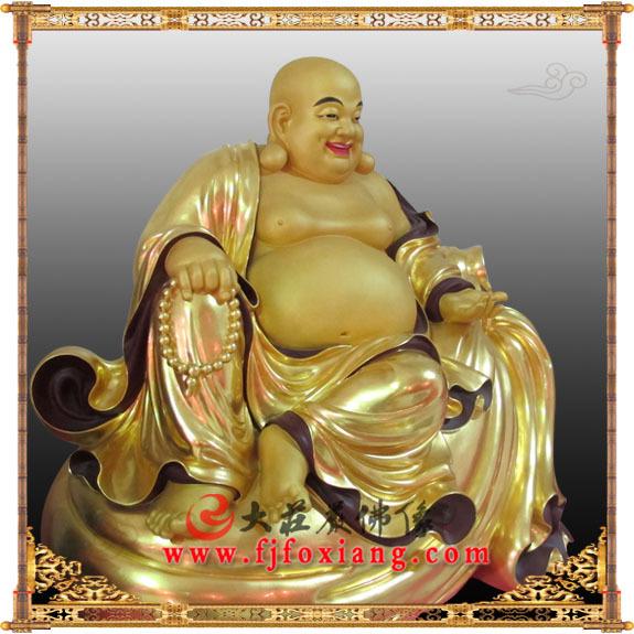 佛教小孩可爱笑面佛图片