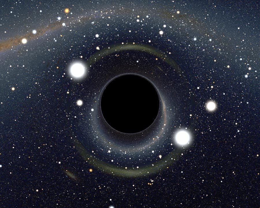 黑洞竖屏手机壁纸