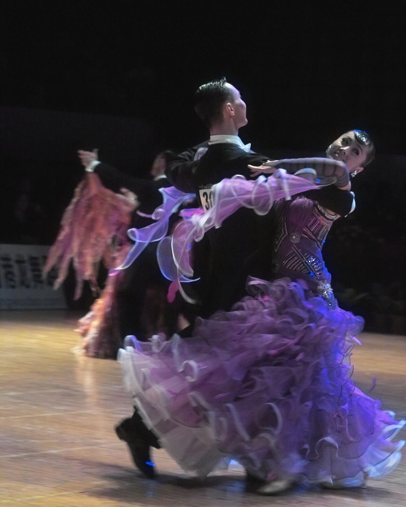 国标舞摩登大赛_彩钻蓬摆国标交谊舞比赛服装成