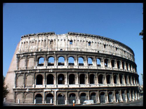 (图)古罗马式建筑