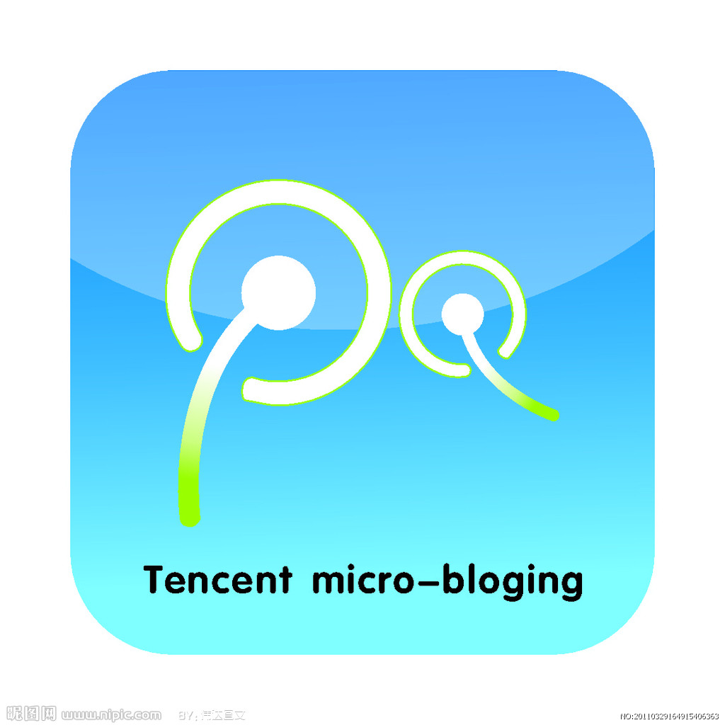 腾讯微博logo矢量图