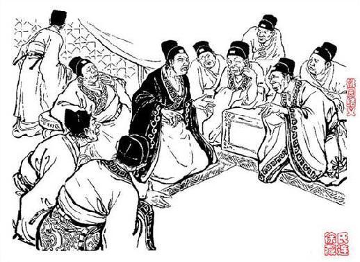 古代太监手绘图